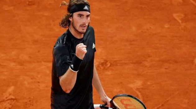 Γράφει ιστορία και στο Roland Garros ο Στέφανος Τσιτσιπάς!