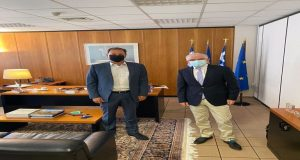Συνάντηση Σπ. Λιβανού με τον Πρόεδρο του ΕΛ.Γ.Α. κ. Λυκουρέντζο
