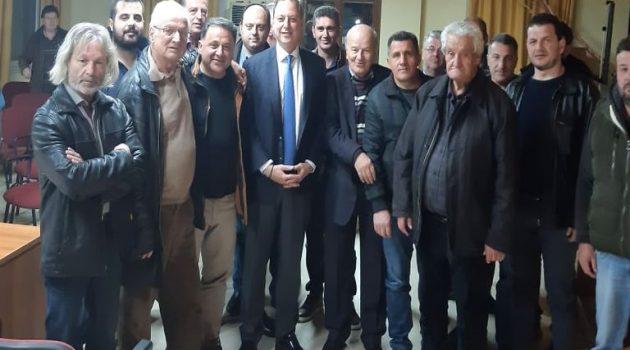 Σπ. Λιβανός: «Θετική έκβαση για το αρδευτικό της Μακρυνείας»