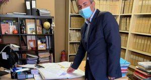 Ο Δήμαρχος Θέρμου αποδέχθηκε τη δωρεά στη μνήμη του Λάμπρου…