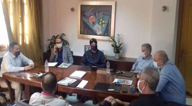 Ναύπακτος: Συνάντηση Βασιλόπουλου – Γκίζα για θέματα αγροτουρισμού