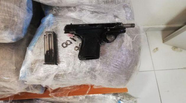 Ράγιο Θεσπρωτίας: Συνελήφθη με όπλα και ναρκωτικά (Photos)