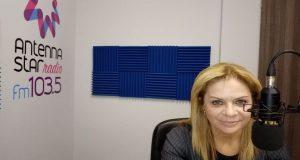 Η Χριστίνα Σταρακά στον «Antenna Star 103.5» (Ηχητικό)