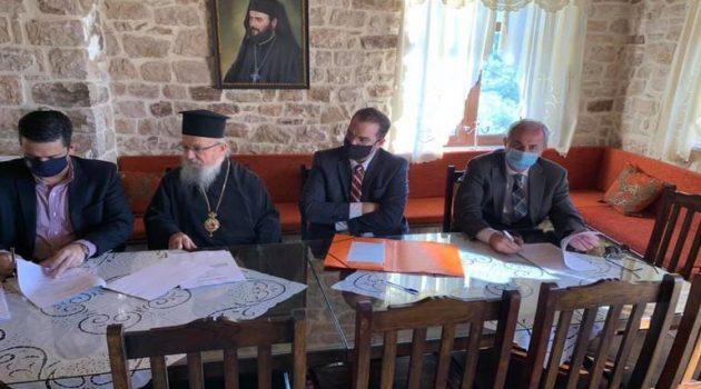 Ιερές Μονές: Προγραμματική σύμβαση για την κατασκευή προσβάσεων