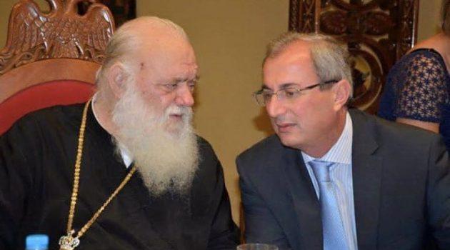 Οι ευχές Κωνσταντάρα στον Αρχιεπίσκοπο