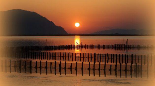Ανατολή στη Λιμνοθάλασσα Μεσολογγίου (Photos)