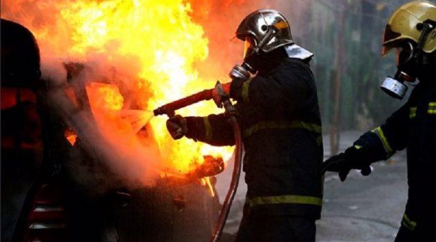 Αγρίνιο: Άμεση κινητοποίηση της Πυροσβεστικής για φωτιά σε Ι.Χ.