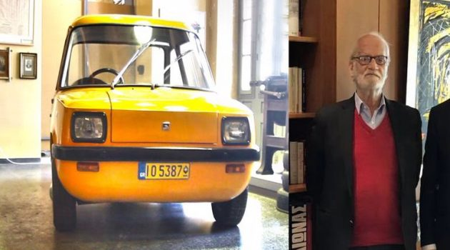 «Έφυγε» ο Κ. Αδρακτάς – Έφτιαξε το πρώτο ελληνικό ηλεκτρικό αυτοκίνητο