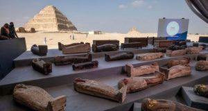 Αίγυπτος: 100 άθικτες σαρκοφάγοι στη Νεκρόπολη της Σακκάρα (Photos)