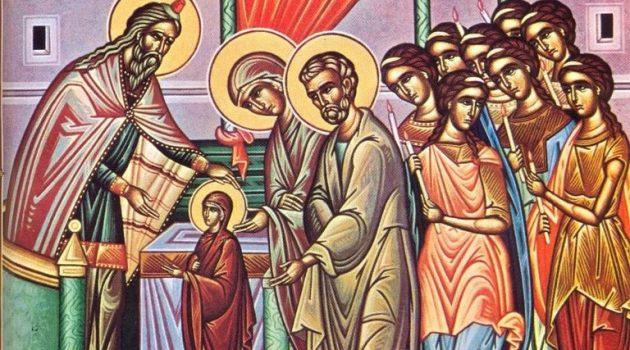 Εισόδια της Θεοτόκου – Ερμηνεία της εικόνας