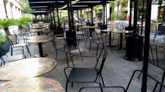 Εστίαση: «Μπλόκο» στην παραμονή πελατών σε εξωτερικούς και εσωτερικούς χώρους