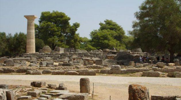 Διαδικτυακή πλατφόρμα για την προβολή της Αρχαίας Ολυμπίας