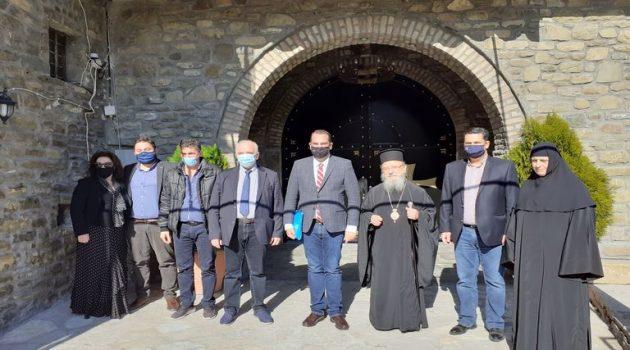 Βελτίωση πρόσβασης στις Ιερές Μονές του Δήμου Αγρινίου (Photos)