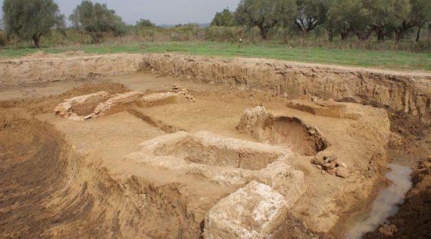 Σωστική ανασκαφή στο Αυγείο Ήλιδας φανέρωσε οκτώ τάφους