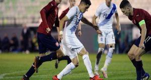 Η Εθνική Ελπίδων ηττήθηκε 2-0 από την αντίστοιχη της Τσεχίας
