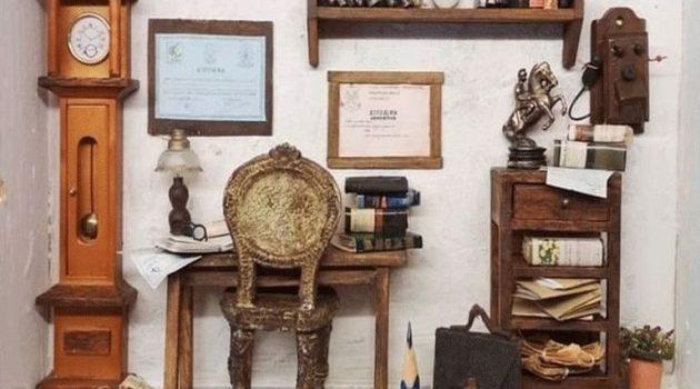 Θεσσαλονικιά κατασκευάζει μινιατούρες με τα πιο παράξενα υλικά