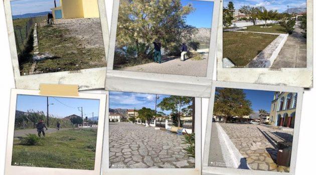 Δ. Ξηρομέρου: Δράσεις καθαριότητας και ευπρεπισμού στο Μύτικα (Photos)