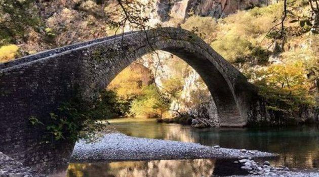 Η μαγική γέφυρα της Αρτοτίβας, του ποταμού Εύηνου (Photo)