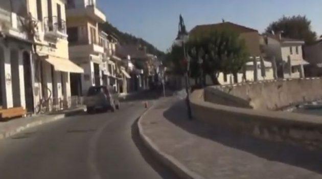Ναύπακτος: Η πρώτη μέρα εφαρμογής του «lockdown» (Video)