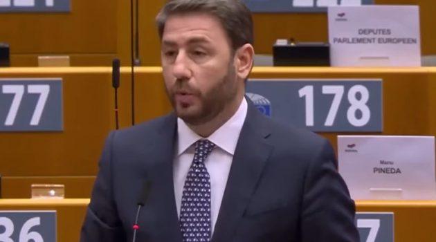 Ανδρουλάκης: «Ο Ερντογάν περιφρονεί το διεθνές δίκαιο και εσείς στρουθοκαμηλίζετε» (Video)