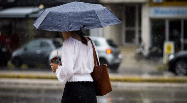 «Ωμέγα εμποδιστής» με πτώση της θερμοκρασίας και καταιγίδες