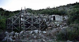 Αποκαθίσταται ο «νάρθηκας» της πύλης της αρχαίας Παλαιομάνινας