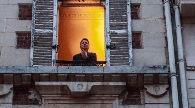 Παρίσι: Τενόρος τραγουδάει από το παράθυρό του κατά το 2ο «lockdown» (Video)