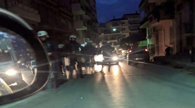 Κλειστό από την Αστυνομία όλο το κέντρο της Πάτρας
