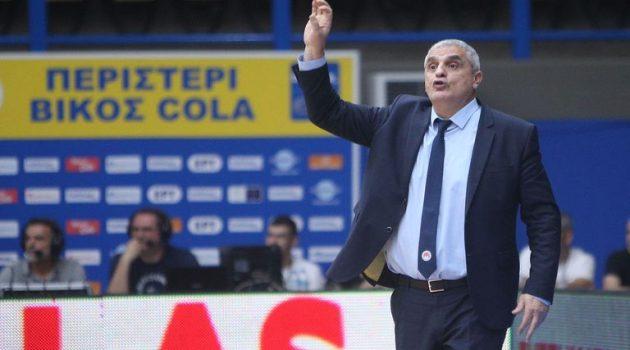 Basket League: Με Πεδουλάκη το Περιστέρι απέναντι στο Μεσολόγγι