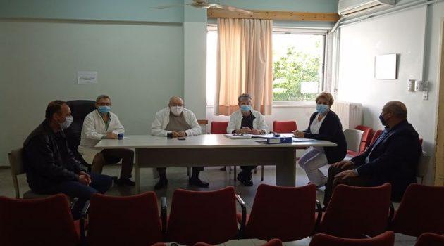 Στην Α/βάθμια Υγειονομική Επιτροπή Ναυπάκτου Γκίζας και Χάρος
