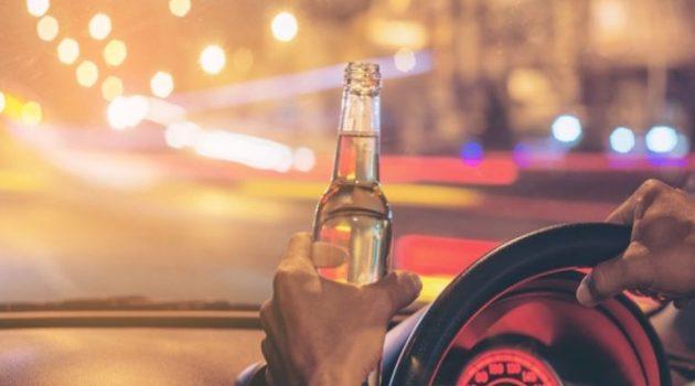 Μεσολόγγι: Σύλληψη για οδήγηση υπό την επήρεια μέθης και εμπλοκή σε τροχαίο