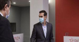 Τη Δευτέρα στον «Ευαγγελισμό» εμβολιάζεται ο Αλέξης Τσίπρας