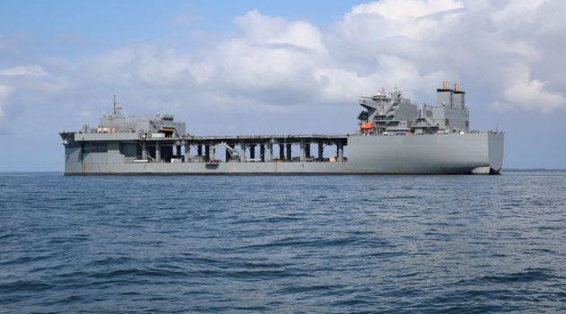 Αμερικανικό Πολεμικό στο Πλατυγιάλι – Σε καραντίνα το πλήρωμα