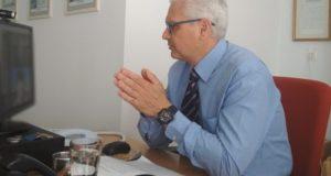 Ζαΐμης: Συνεργασία με την Πρυτανεία σε προγράμματα και δράσεις έρευνας-καινοτομίας