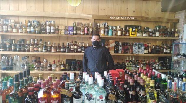 Αγρίνιο – Ανδρέας Παπαθανάσης: «Εντυπωσιακή η πτώση του τζίρου στις κάβες»