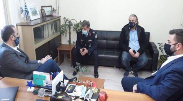 Στην Αστυνομική Διεύθυνση Αιτωλίας ο Ν. Φαρμάκης για ανταλλαγή ευχών (Photos)