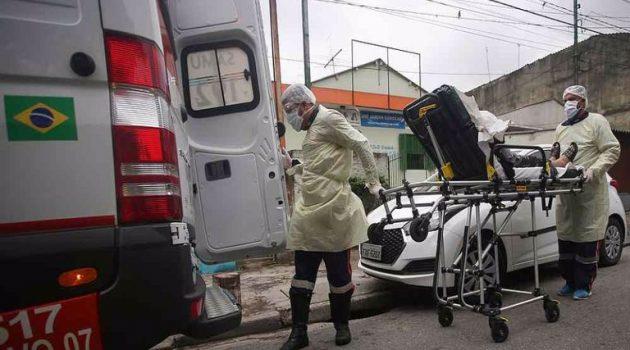 Κορωνοϊός – Βραζιλία: 694 θάνατοι και 46.884 κρούσματα σε 24 ώρες