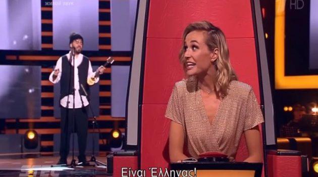 Θεσσαλονικιός ξεσηκώνει την Polina Gagarina στο «The Voice» της Ρωσίας! (Video)