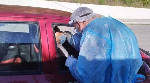 Αγρίνιο: Διενέργεια Rapid Tests Covid-19 την τελευταία μέρα του χρόνου έξω από το Δημαρχείο