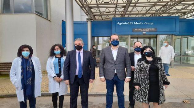 Νοσοκομείο Αγρινίου: Παρουσίαση του μεγάλου έργου της ενεργειακής αναβάθμισης (Video – Photos)