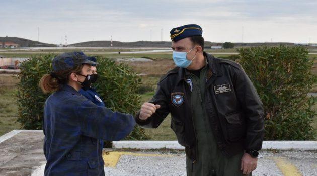 Ο αρχηγός Γ.Ε.Α. σε Μονάδες Πολεμικής Αεροπορίας στη Σκύρο (Photos)