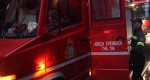 Αγρίνιο-Έκτακτο: Φωτιά πριν από λίγο στην οδό Δεληγιώργη