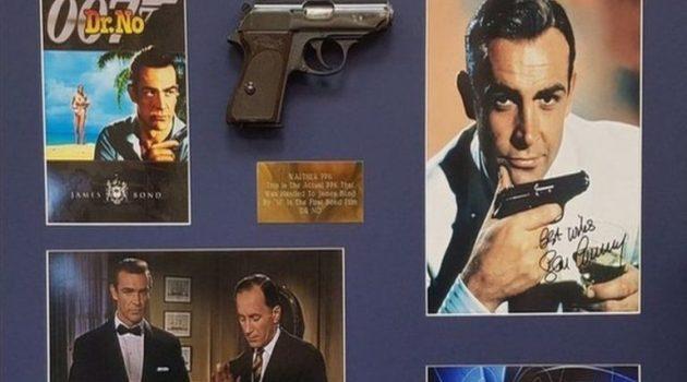 Το πρώτο πιστόλι του «Τζέιμς Μποντ» πουλήθηκε έναντι 256.000 δολαρίων