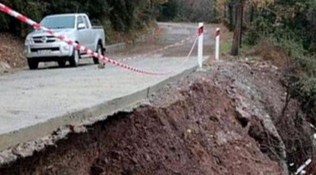 Κλεπά Ναυπακτίας: Ανησυχία για τα κατολισθητικά φαινόμενα (Photos)