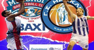 Basket League: Μια αμφίρροπη αναμέτρηση μεταξύ Χαρίλαου και Ηρακλή