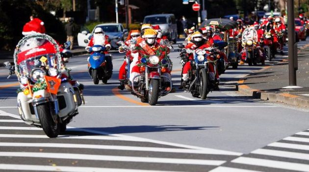 Τόκιο: «Δίτροχη» Παρέλαση Άγ. Βασίλιδων κατά της παιδικής κακοποίησης (Video – Photos)