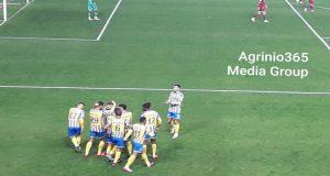 SL1 – Τέλος πρώτου ημιχρόνου: Παναιτωλικός (1-0) Α.Ε.Λ.