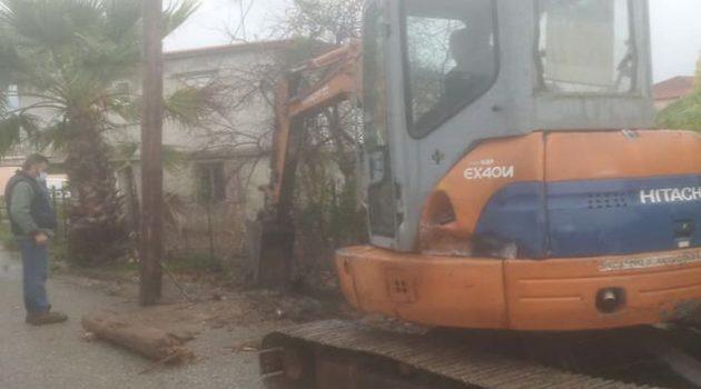 Παναιτώλιο: Χωρίς ρεύμα και νερό λόγω της κακοκαιρίας (Photos)