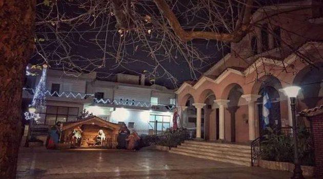 Πάτρα: Ξεχωρίζει η φάτνη του ναού των Αγίων Θεοδώρων στα Δεμένικα
