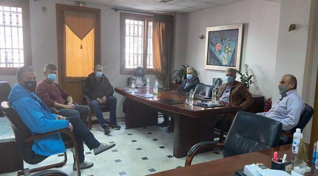 Συνάντηση Γκίζα με Σαλμά για δράσεις πολιτικής προστασίας